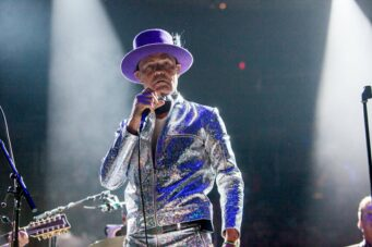 The Tragically Hip at the Air Canada Centre in 2016.