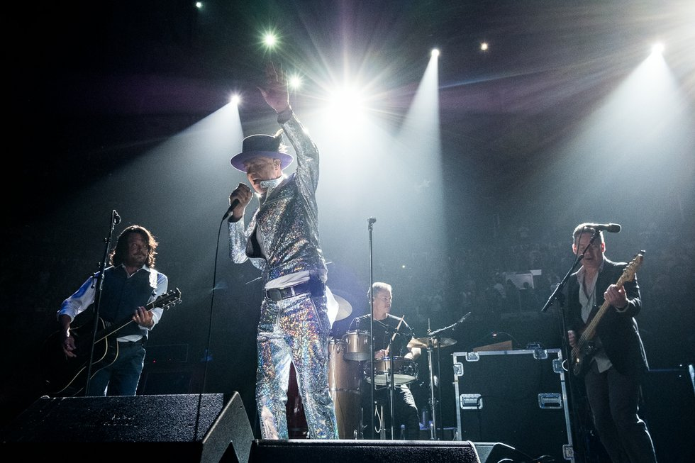 The Tragically Hip, August 10th, 2016 at the ACC in Toronto.