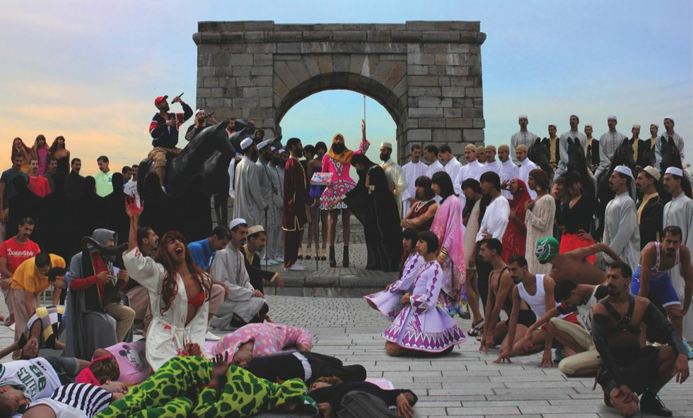2Fik - The Marriage of Abdel and Fatima (2014) Digital Print 42x70 inch.jpg