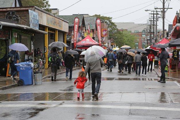Pedestrian Sundays in Kensington Market