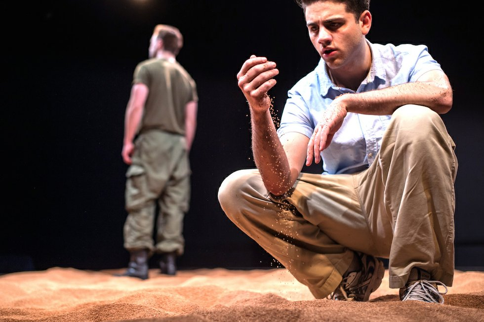 A Line In The Sand - 3 - Morgan David Jones and Danny Ghantous - Photos by Dahlia Katz.jpg