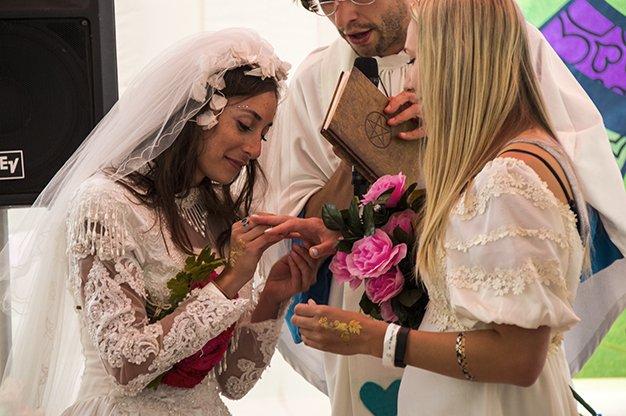 Bestival Wedding