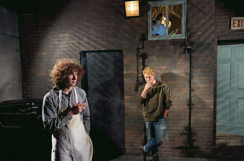 Coal Mine Theatre presents THE ALIENS-Maxwell Haynes, Noah Reid, photo by Tim Leyes_preview.jpeg