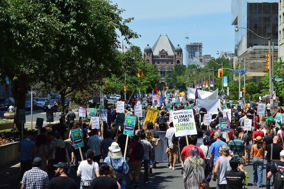 Fight for $15 Rally To Queen's Park.JPG