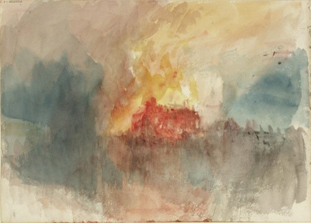 Fire at the Grand Storehouse of the Tower of London, 1841 cat 92.jpg