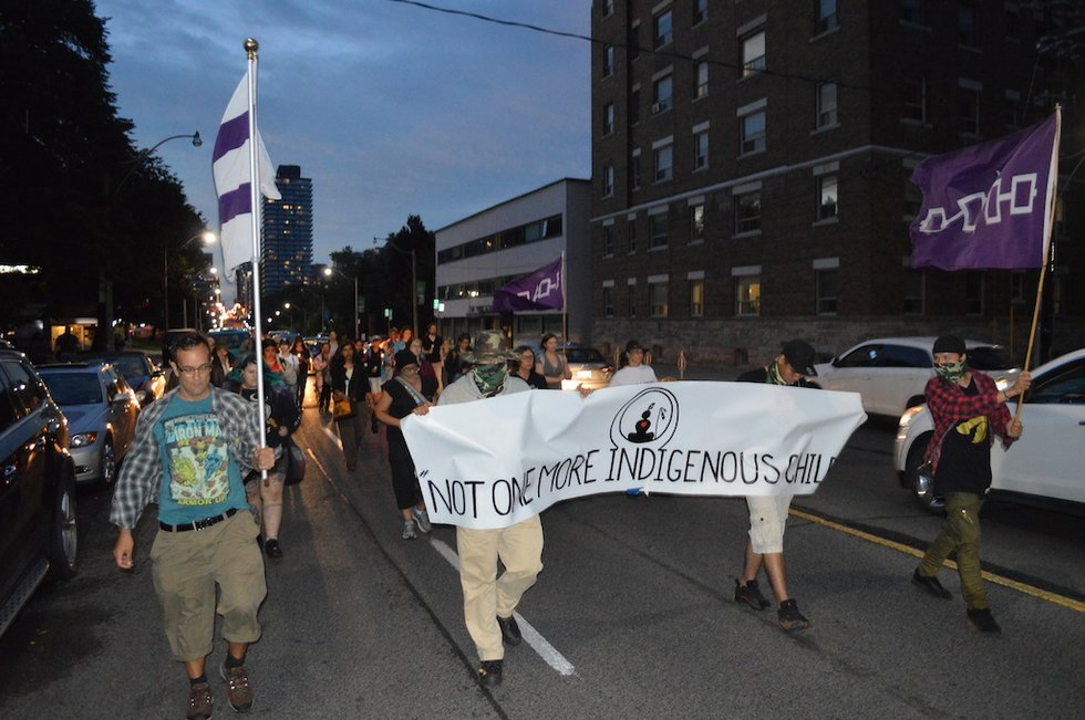 First Nations youth suicide march.JPG