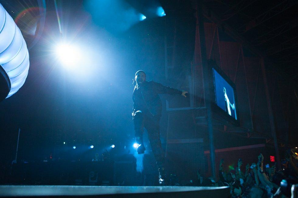 Drake at OVO Fest 2017.