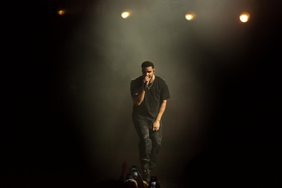 Drake at OVO Fest 2017 at Budweiser Stage.