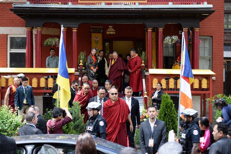 Karmapa visits Parkdale 2.jpg