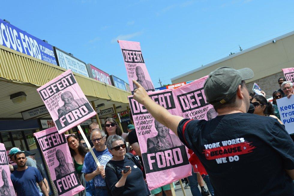 OCAP protest at Ford office.JPG