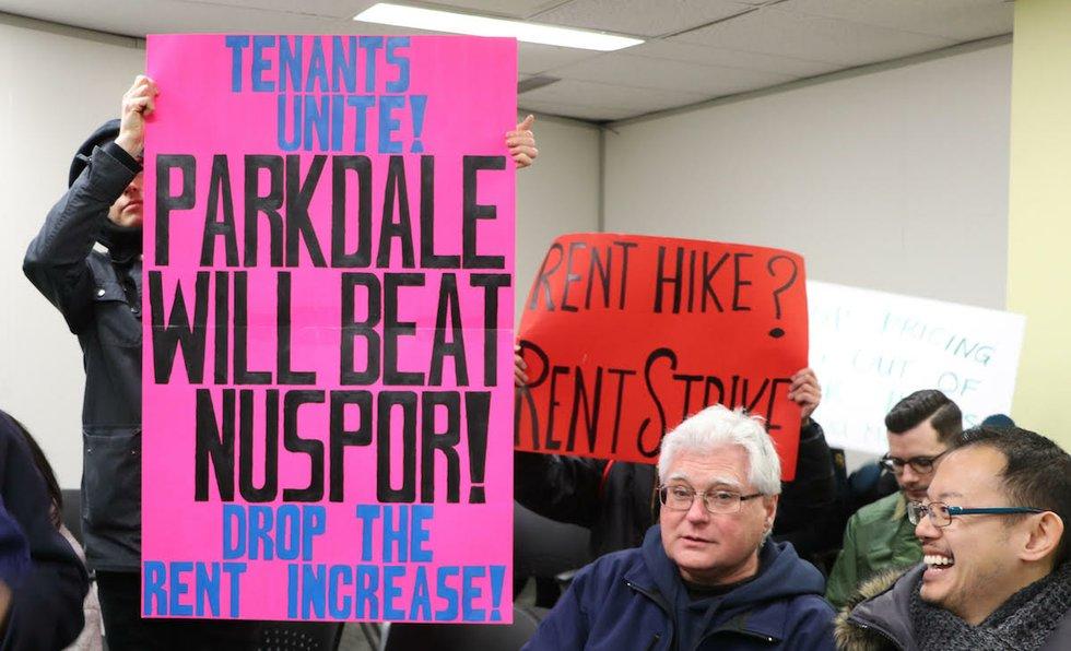 Parkdale rent strike