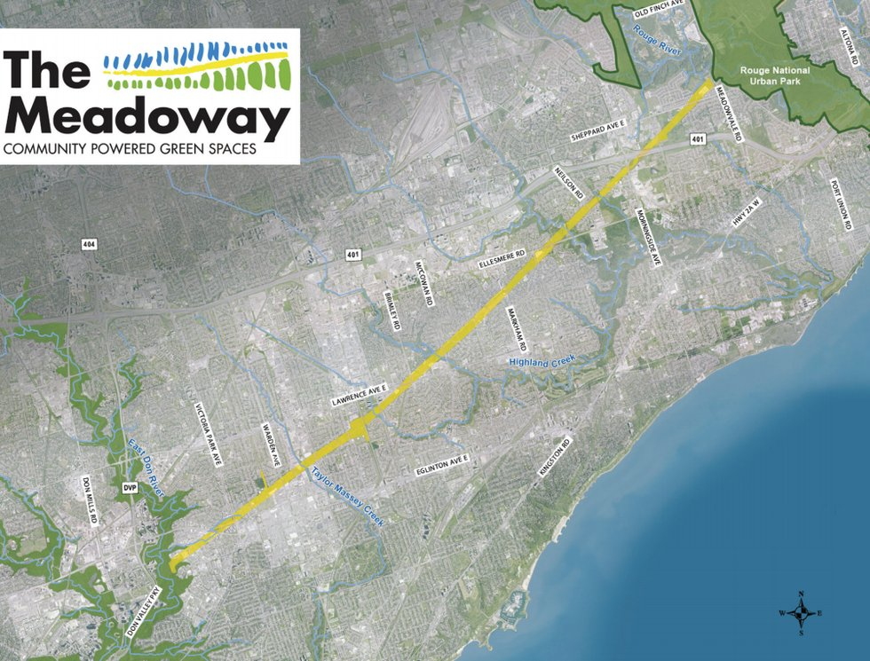 Map of the Meadoway