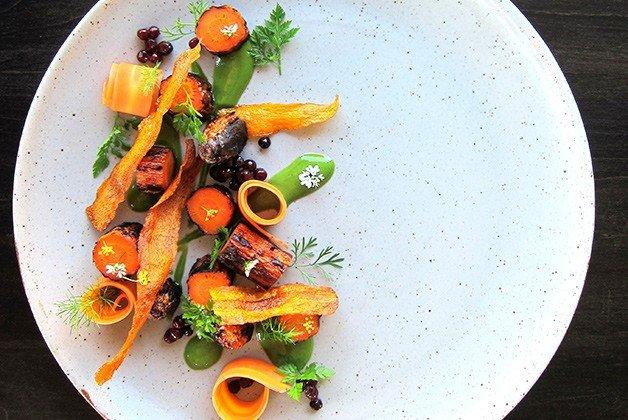 Carrot/herbs/elderberries