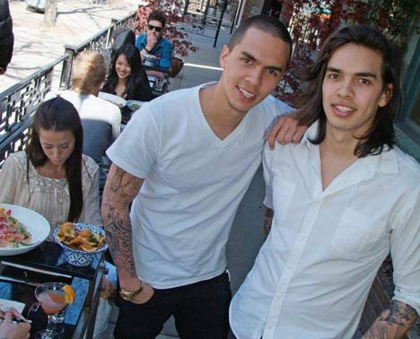 Kai (left) and Levi Bent-Lee, sons of Susur Lee, are set to launch their own eatery on Dundas West.