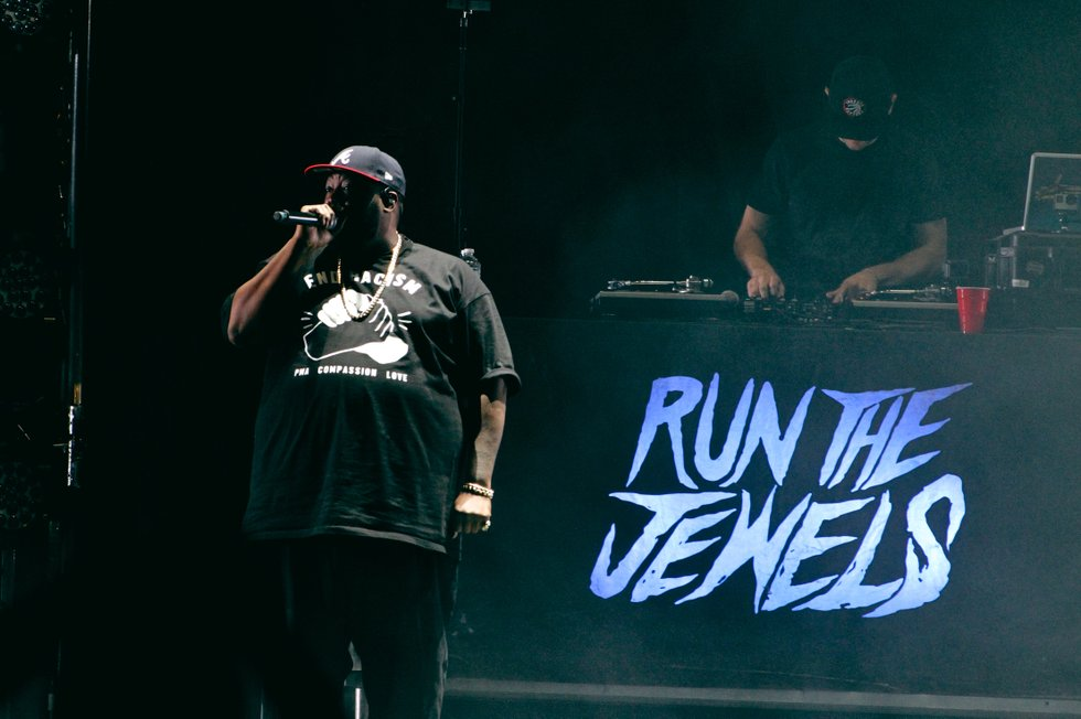 Killer Mike of Run The Jewels at Air Canada Centre