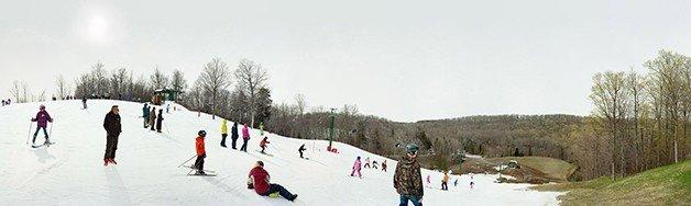 Wortley's Wiggle, Caledon Ski Club, Mississauga Rd. Caledon, Ontario