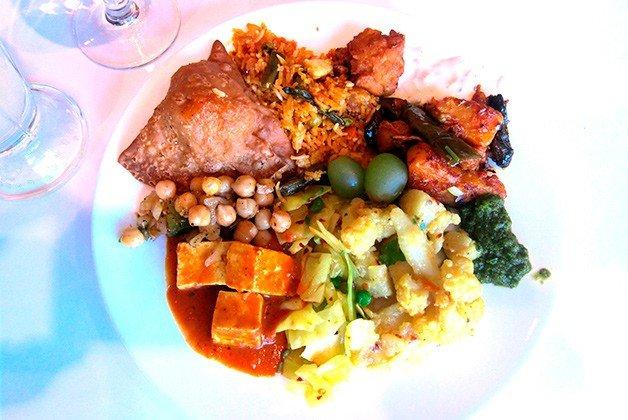 Hit the buffet at Siddhartha Pure Vegetarian.