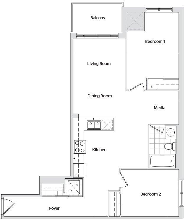 Watermark floorplan