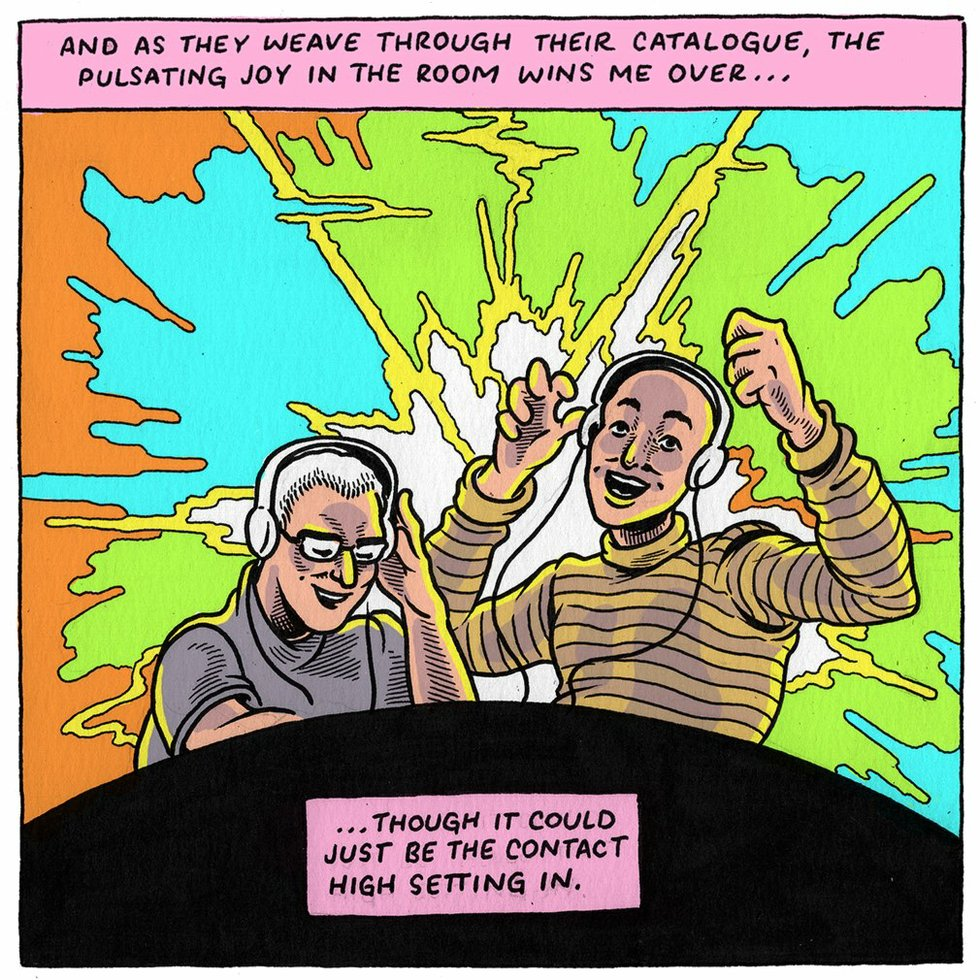 Above &amp Beyond comic concert review (panel 5)