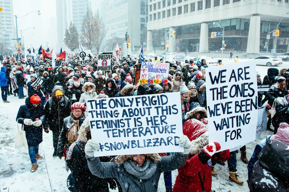 Women March On: Toronto 2019