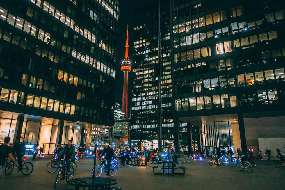Bike rave-riders downtown.jpg