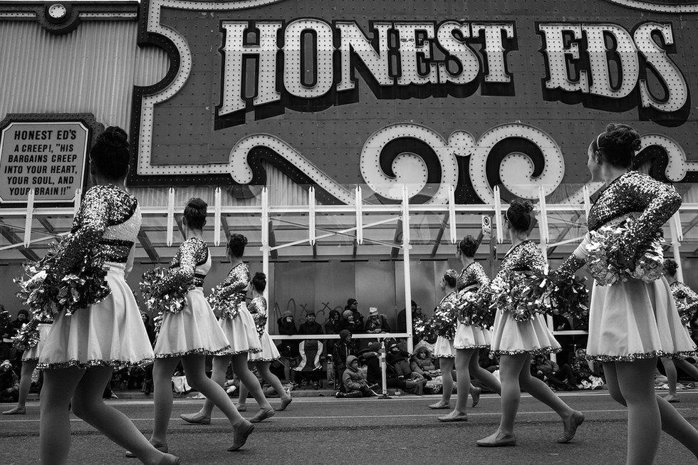 Honest Ed's Cheerleaders