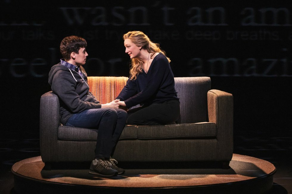 Robert Markus and Jessica Sherman in Dear Evan Hansen