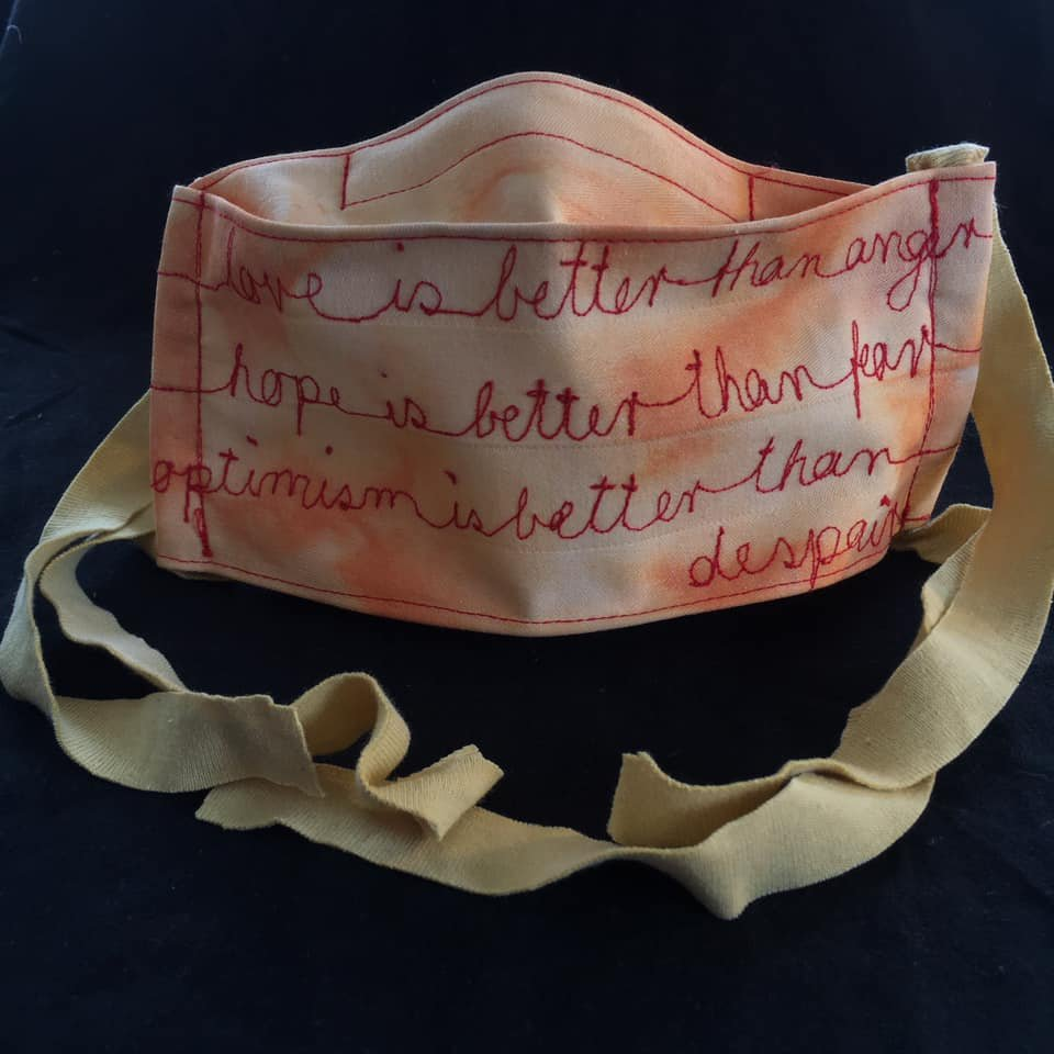 Jack Layton Mask details
