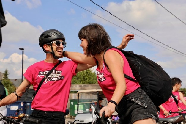 Labour Day 2019 10 Foodora Couriers.jpg