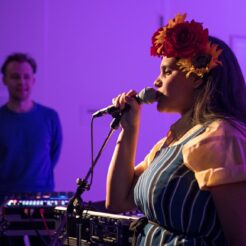 Lido Pimienta at the MOCA in 2020. She'll kick off City Hall Spotlight from the Phoenix Concert Theatre on January 14.