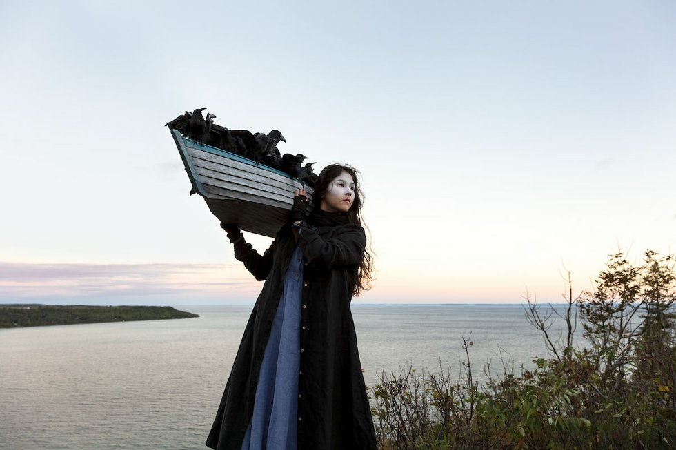 Meryl McMaster On The Edge Of This Immensity