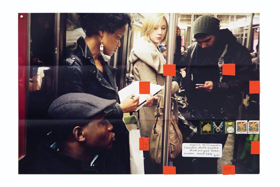 Moyra Davey Subway Writers Ryerson Image Centre