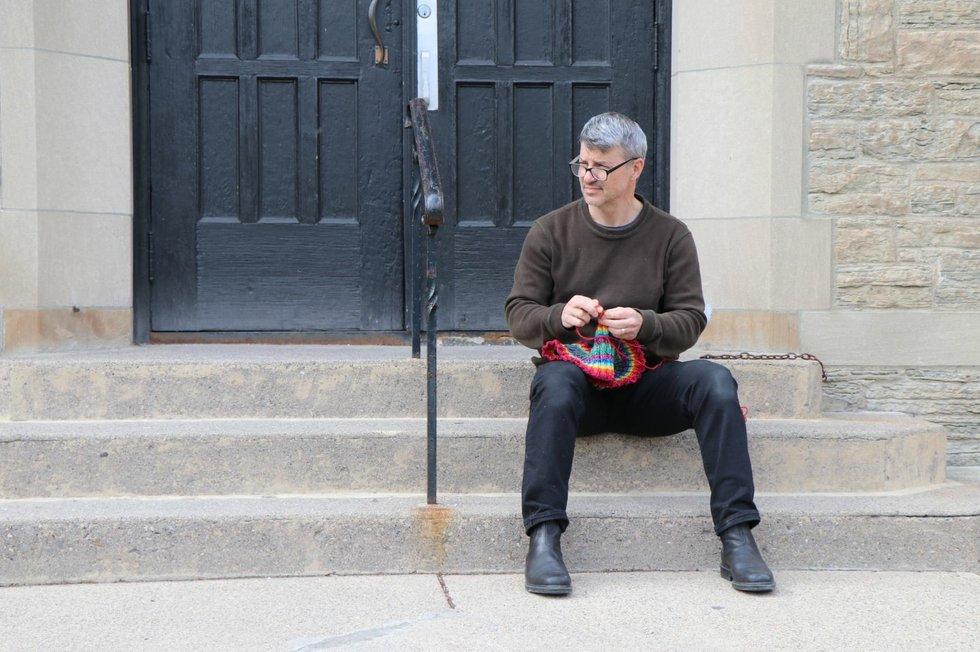 The Knitting Pilgrim, Kirk Dunn