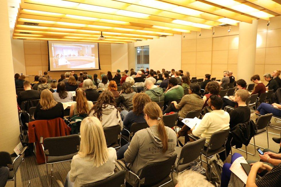 Toronto Public Library board meeting