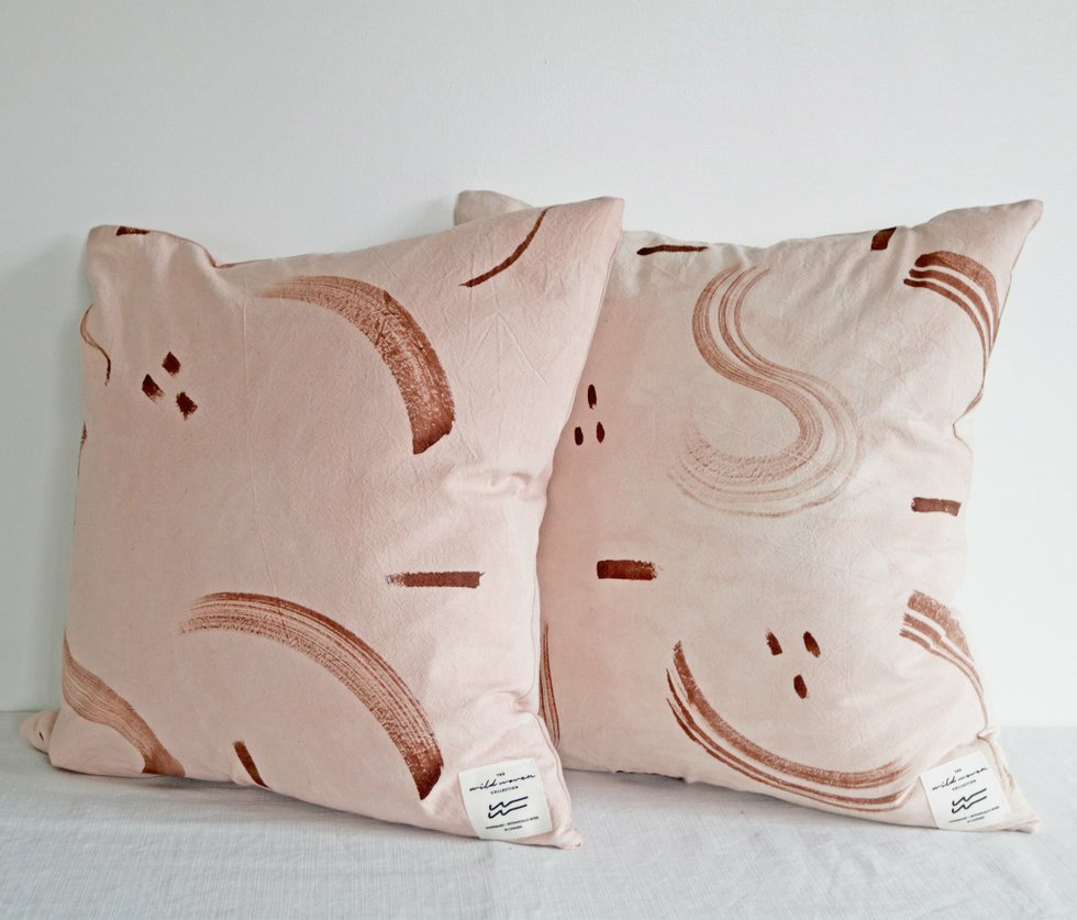 Wild Woven pillows