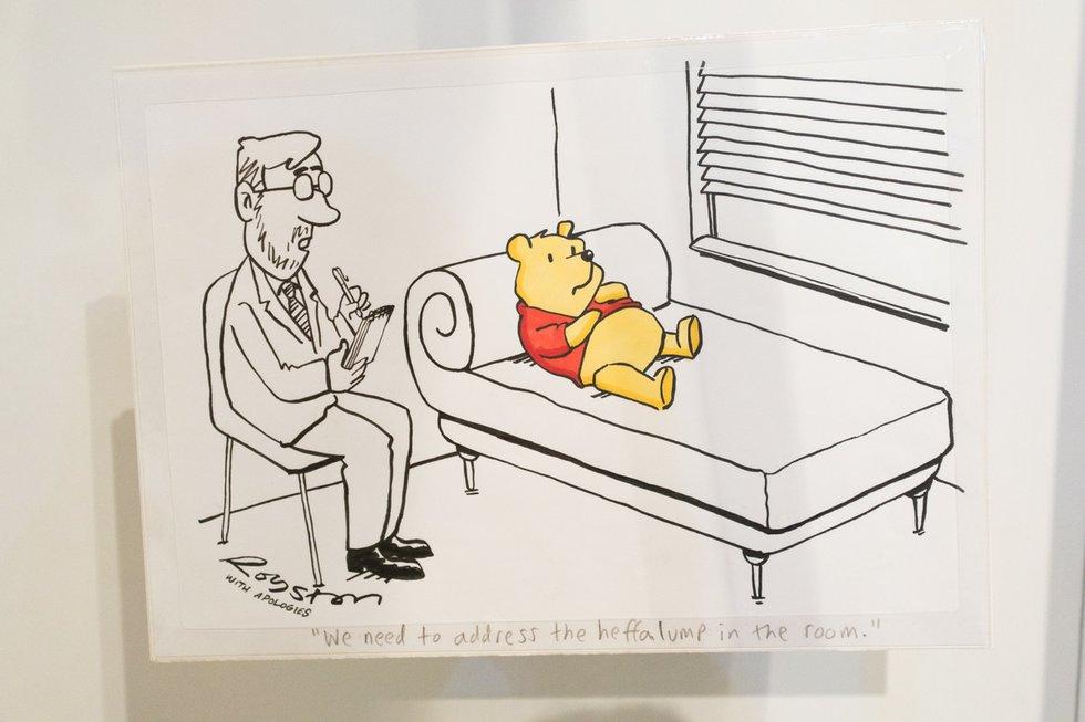 Winnie the Pooh ROM Exhibit