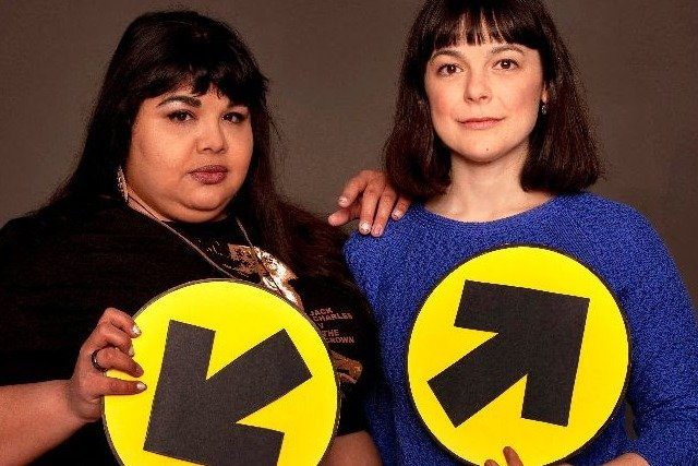 Yolanda Bonnell and Natasha Greenblatt, The Election