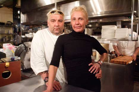 Marc Thuet and Biana Zorich