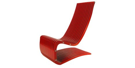 The Dresslers' Onedge lounge chair
