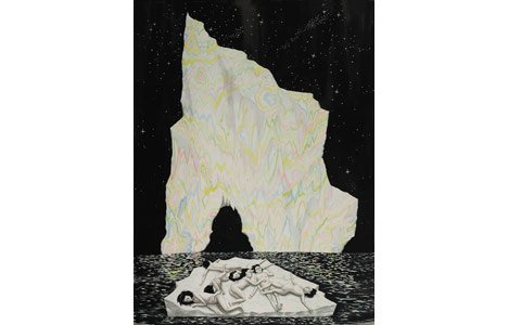 Shary Boyle's Iceberg was an eerie hit in Noise Ghost.