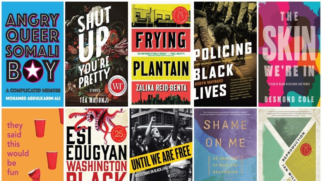 Books by Black Canadian authors