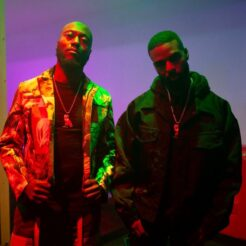 A photo of Toronto R&B duo DVSN