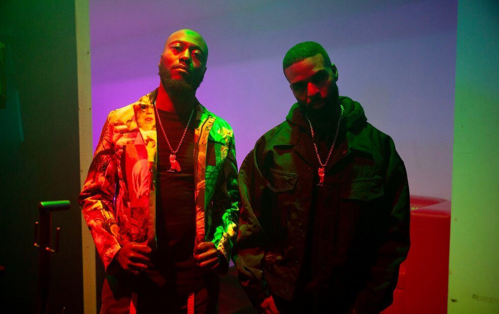 A photo of Toronto R&B duo DVSN