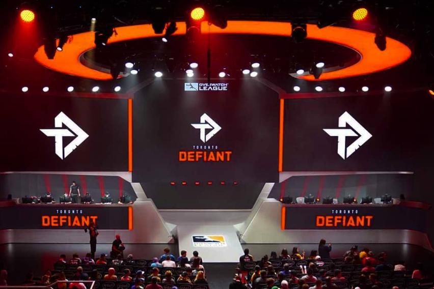 Toronto Defiant play eSports at Blizzard Arena