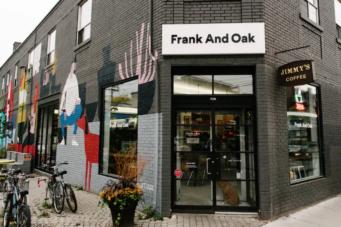 Frank and Oak Toronto Queen West