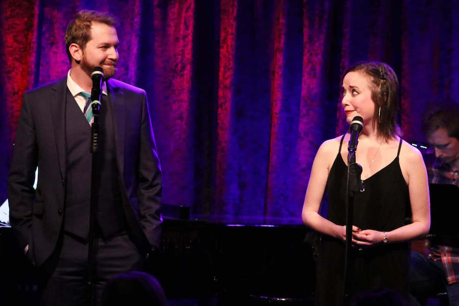 A photo of Jeremy Lapalme and Gabi Epstein