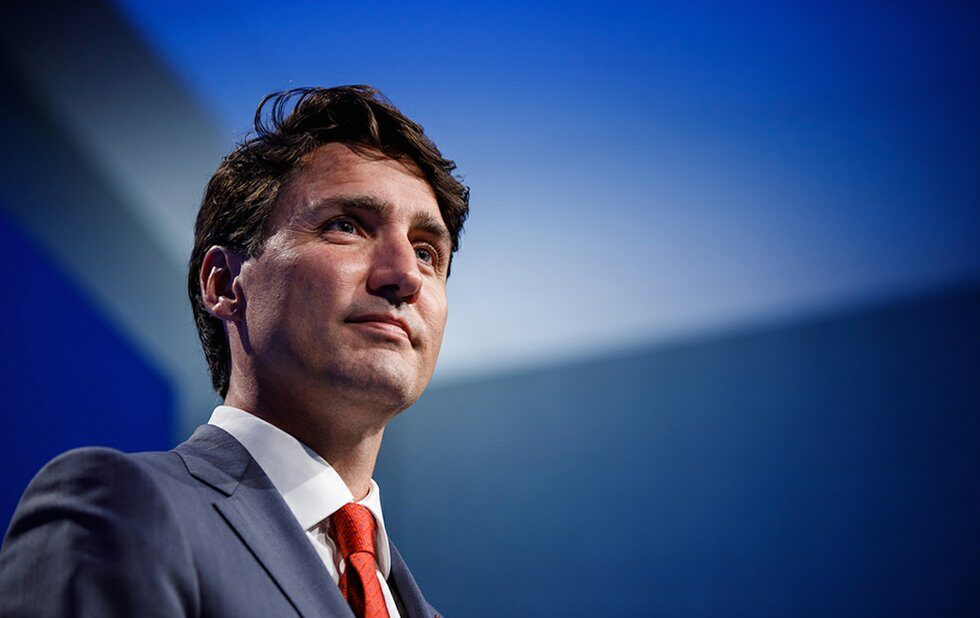 A photo of Canadian Prime Minister Justin Trudeau
