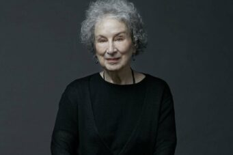 A portrait of Margaret Atwood shot in Toronto by Samuel Engelking for NOW Magazine
