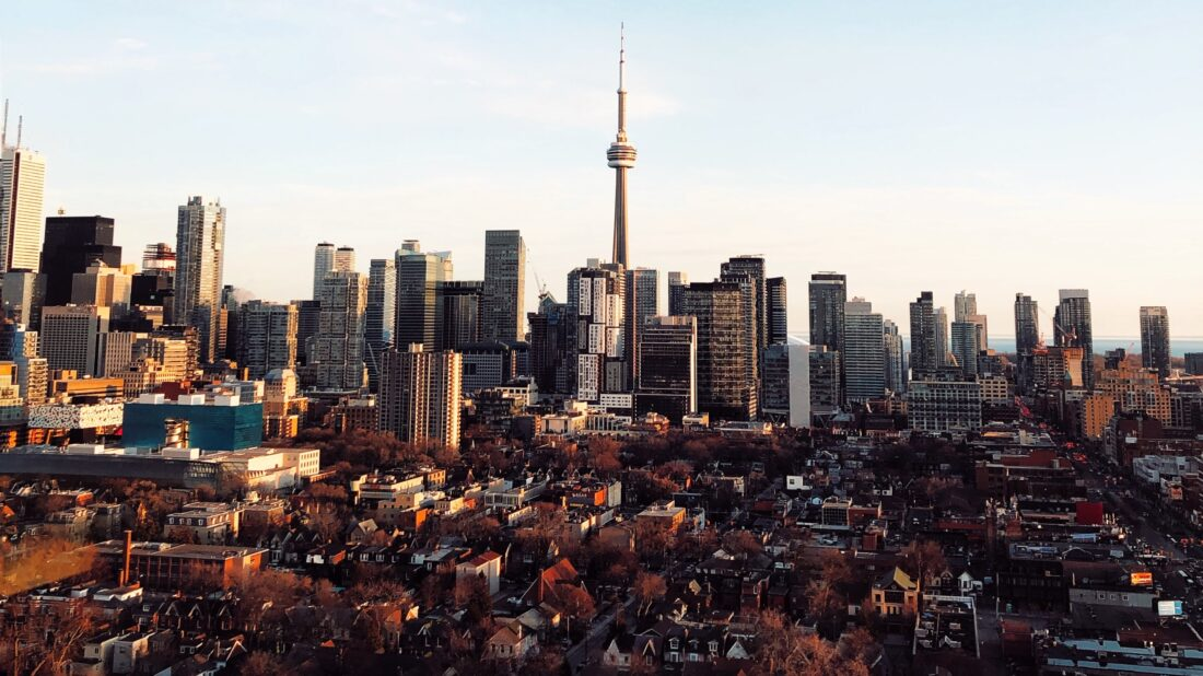 A photo of the Toronto skyline