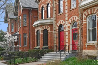 A photo of Victorian homes Toronto